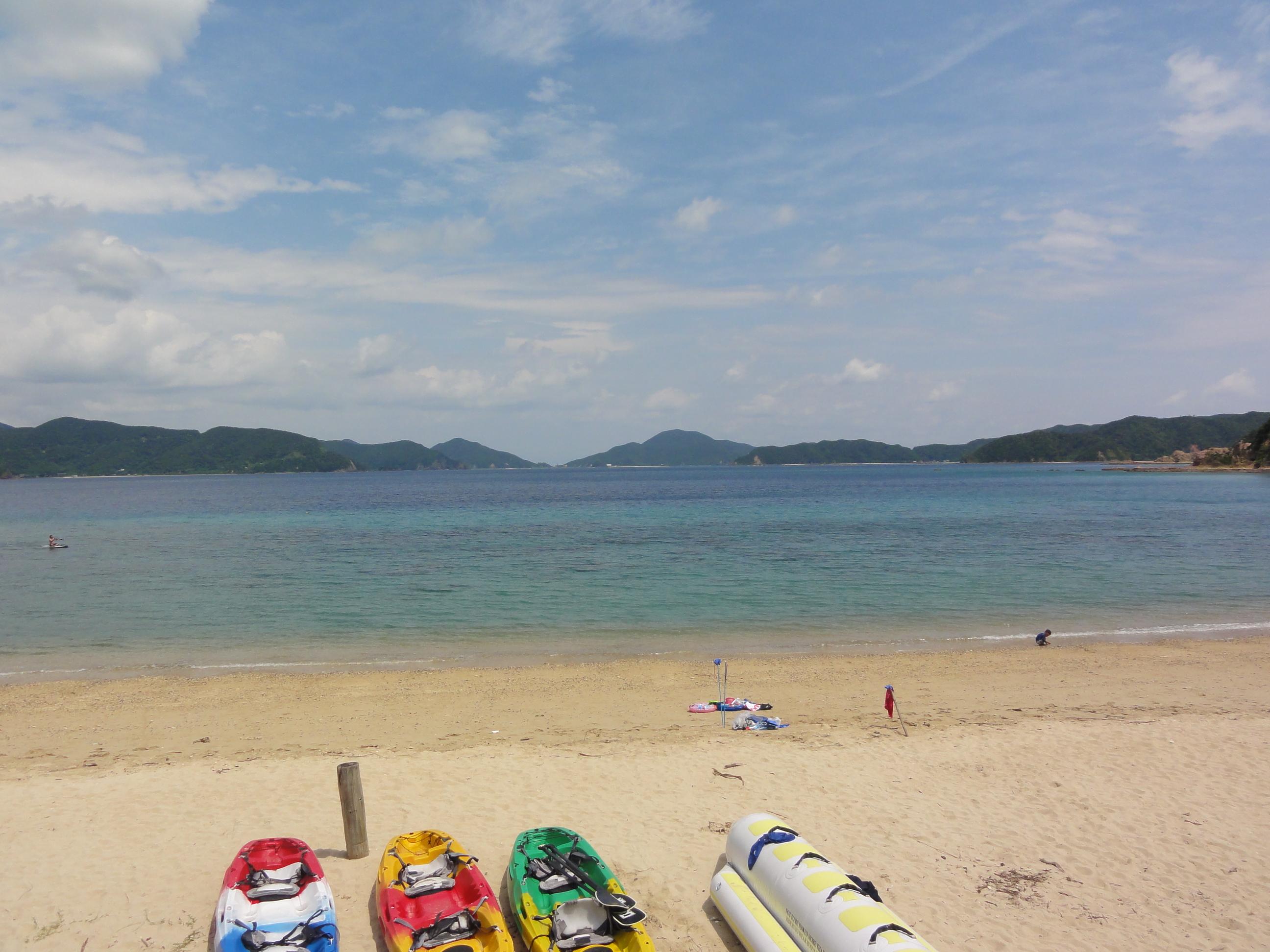 小浜から奄美大島(加計呂麻島)へ 遊び方