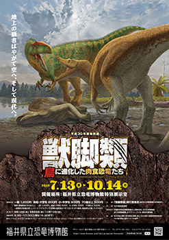 2018 獣脚類(鳥に進化した肉食恐竜たち)