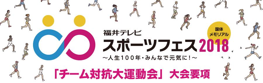 スポーツフェス2018(福井市)