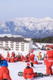 2018-2019 スキージャム勝山(サンタ姿で1日券無料)