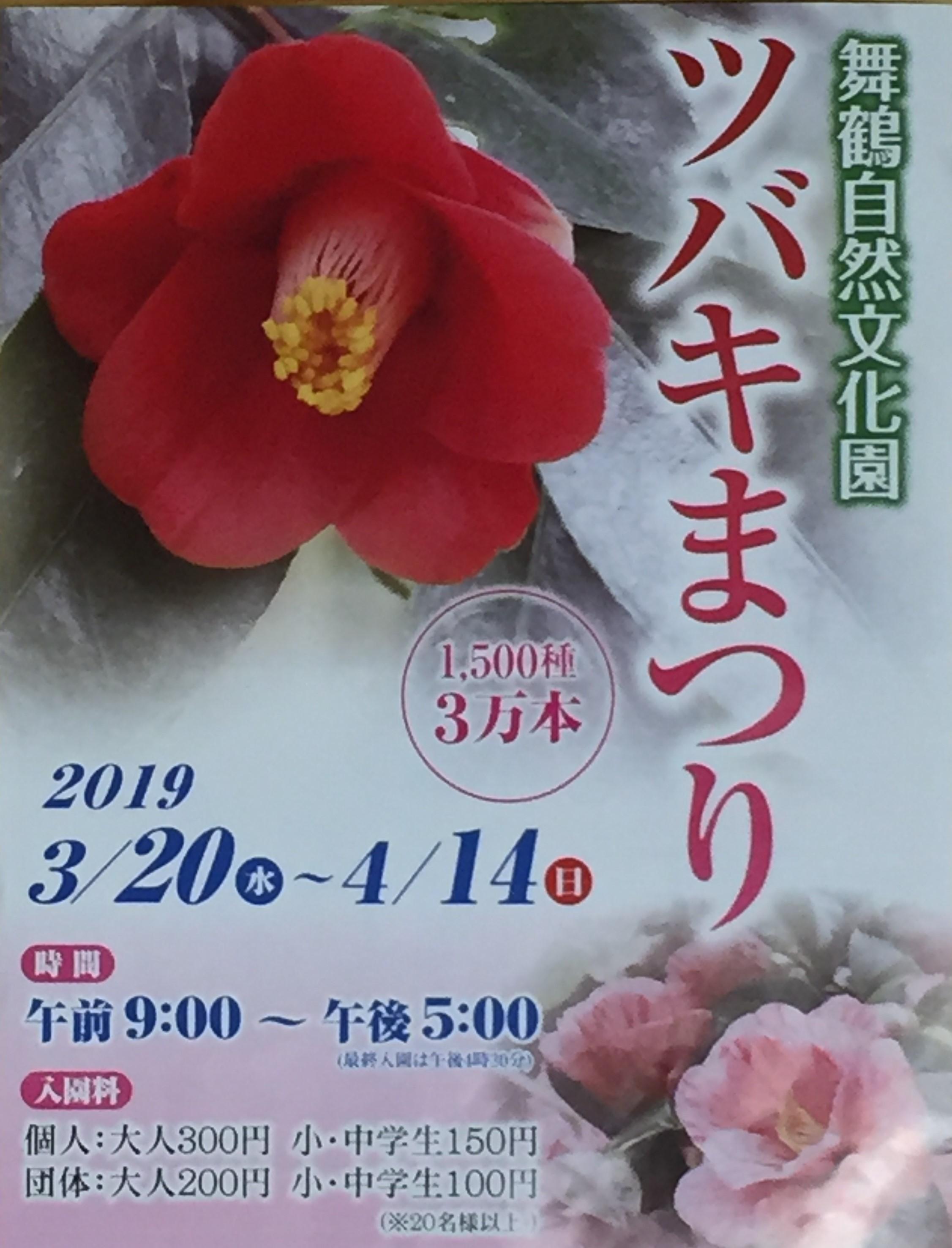 2019 ツバキまつり(舞鶴自然文化園)