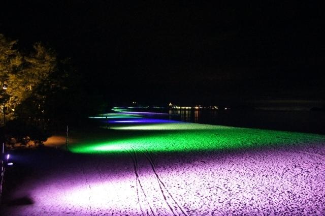 2019 天橋立砂浜ライトアップ(京都府宮津市)