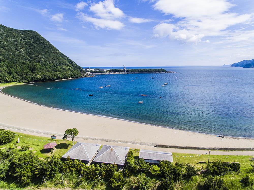 袖ヶ浜海水浴場(おおい町)
