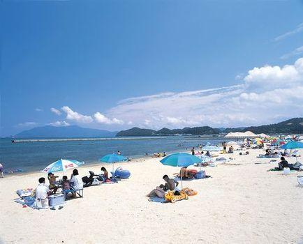 長井浜海水浴場(福井県大飯郡おおい町長井)