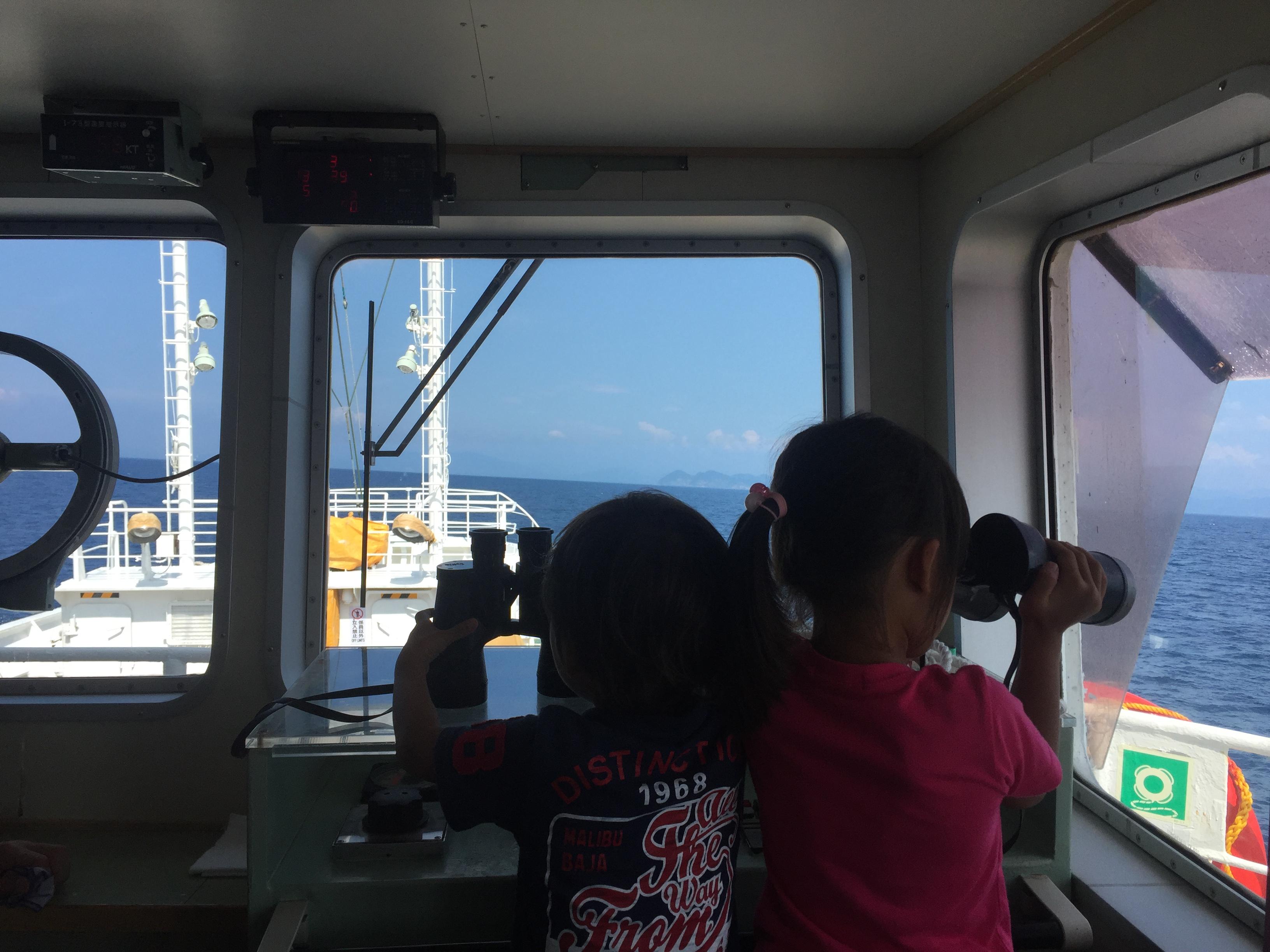 「雲龍丸」2017 乗船体験 遊び方