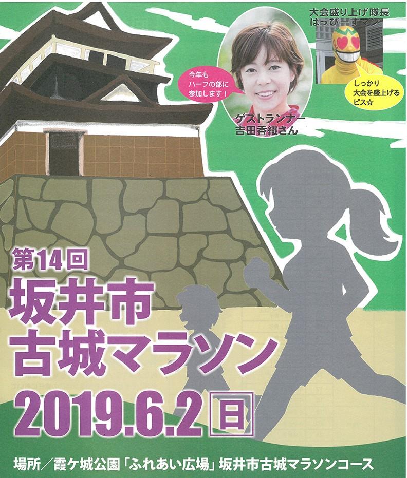 2019 第14回 坂井市古城マラソン大会(坂井市)