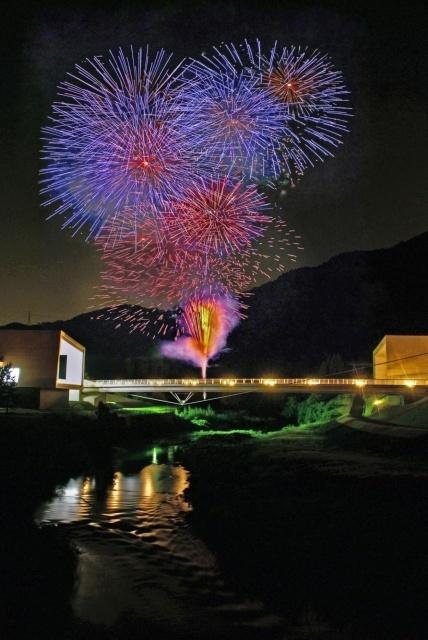 2019 ひよし夏祭り花火大会(京都府南丹市日吉町中)